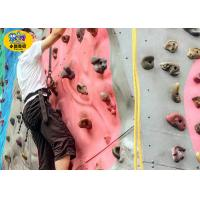 Colorful Children'S Rock Climbing Wall For Indoor Playground High Physical Strength