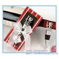 PERSONALIZED EXPRESSIONS COLLECTION WINE BOTTLE STOPPER FAVORS for sale