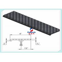 China U / T Type 6063 Industrial Aluminum Profile With Non - Slip Stair Nosing Stair Part on sale