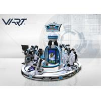 Wholesale 4 Seats VR Shooting Games Kids Virtual Reality Rides With Track Movement from china suppliers
