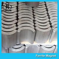 Buy cheap 360 380 540 550 775 Strong Ferrite Arc Magnet for EPS Motor Customized Size from wholesalers