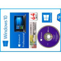 China Microsoft Windows 10 Pro Software 64 bit OEM Package original License with different lanugage activation on sale