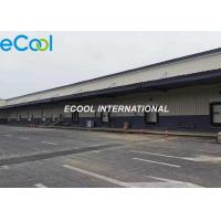 China Prefabricated 200 tons / day Turn over Cold Storage Logistics and Distribution Center for sale