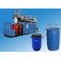 Automatic Bottle Blowing Machine , PP PE Plastic Oil Drums Auto Blow Machine