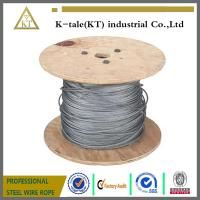 China 6X19+FC and 6X37+FC Ungalvanized steel wire rope for Lifting Hoisting Drawing on sale