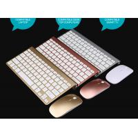 Wholesale Factory 2.4G Mini Wireless Keyboard Kit for Android Apple System  K108 Chocolate Keyboard mouse 2018 south america from china suppliers