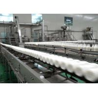 Quality 380V Electric Juice Packaging Equipment Neck Tilting Sterilizing Conveyor for sale