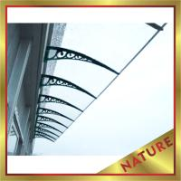 Buy cheap polycarbonate diy awning,canopy for construction project-nice sun and rain shelter for door and window from wholesalers