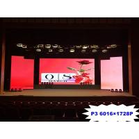 China Full color indoor P3mm led screen rental or fixed installation led module led display indoor for sale