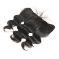 Wholesale Genuine Body Wave Lace Closure Hair Extensions With Baby Hair OEM Service from china suppliers