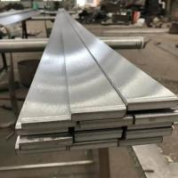 Quality Long SS 316 Brushed Finish Stainless Steel Flat Bar TP316L Metal Flat Bar for sale