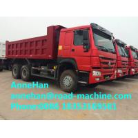 Wholesale HOWO7 6x4 40T Heavy Duty Dump Truck 16M3 336HP 12.00R20 Rational tire from china suppliers