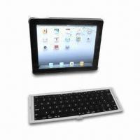 66 Keys Mobile IPhone 4 Sliding / Slide Bluetooth Keyboard Case with 175g / 3.6V Battery for sale