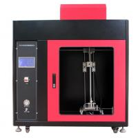 Quality PLC + Touch Screen Control  Automotive Interior Material Vertical Combustion Tester for sale