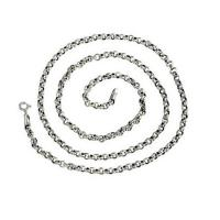 Wholesale Sterling 925 Silver 3.5mm Rolo Chain Necklace (XH041845W) from china suppliers