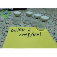 China Pharmaceutical 98% min Peptides Ghrp-6 5mg/vial 10mg/vial CAS 87616-84-0 on sale
