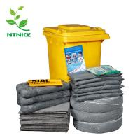 China ISO 9000:2008 100% PP 240L wheelie bin universal Spill Control emergency spill kits on sale