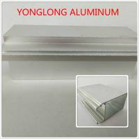 Wholesale Silver Color Polished Aluminium Alloy Profiles T5 For Window / Door Materials from china suppliers