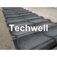 Wholesale Sand Metal Stone Coated Roof Tile Machine , Steel Roof Tile Production Line from china suppliers