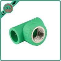 Wholesale Reliable PPR Female Threaded Tee Green / White Color Smooth Internal Surface from china suppliers