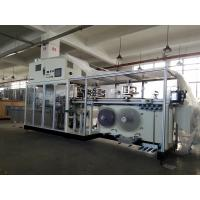 Rolling Film Sanitary Napkin Packing Machine Accurate And Stable Patented Angle Structure