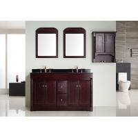 Buy cheap 120 X 55 X 85 / Cm Square Sinks Bathroom Vanities Modern Marble Counter top from Wholesalers