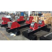 Wholesale HGK-100 Conventional Automatic Pipe Welding Rotator With  Double Motor Powered And Rubber Wheels from china suppliers