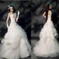Wholesale Strapless Ball Gown Bridal Gown (PF10029) from china suppliers