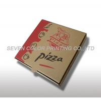 China Corrugated Logo Custom Pizza Boxes, Color Printed Pizza Packaging Boxes on sale