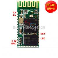 Wholesale HC-06 Bluetooth serial module ,connected microcontroller 51 CSR wireless passthrough modul from china suppliers