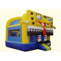 Wholesale Safe Commercial Cute Spongebob Inflatable Bouncer House For Children from china suppliers