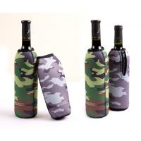 Wholesale Camouflage anti-collision Neoprene Wine Cooler,bag/cup/red wine holder from china suppliers