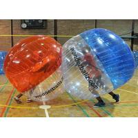 Wholesale Funny Outdoor Inflatable Toys , Inflatable Human Bumper Balls With Logo Printing from china suppliers