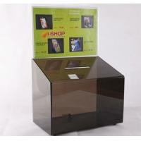 Wholesale Acrylic Suggestion box, Acrylic Donation & Ballot Box from china suppliers