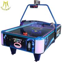 China Hansel amusement equipment air powered hockey table for game center on sale