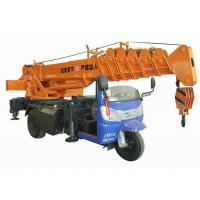 China Small Tricycle Mobile Truck Mounted Hydraulic Crane 3- 5 Ton For Construction for sale