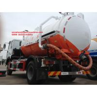 Wholesale Sinotruk HOWO 6 wheeler 8000L disposal sewage suction vehicle trucks from china suppliers
