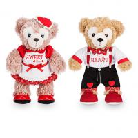 China 22cm Disney Duffy And ShellieMay Plush Toys Disney Stuffed Characters on sale