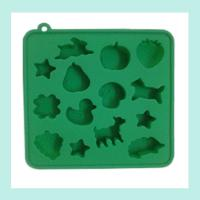 Wholesale muti-animal shape silicone ice trays ,ice cube silicone baking trays from china suppliers