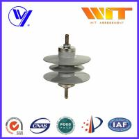 Quality 3 Phase Metal Oxide Surge Arresters , Station Class Lightning Protector for Distribution for sale