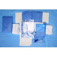 Wholesale Custom Breathable Disposable Sterile Drape Sheets , Abdominal Drape from china suppliers