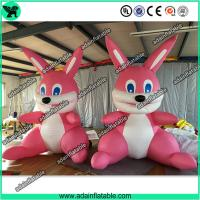 Wholesale Cute Pink Inflatable Rabbit,Giant Pink Inflatable Bunny, Party Inflatable Animal from china suppliers