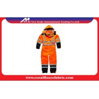 Wholesale Waterproof Flame Retardant Workwear Safety Coverall With Reflective Stripe EN471 from china suppliers
