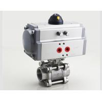 Wholesale High Performance Motorized Control Valve , Stainless Steel Medium Pressure Ball Valve from china suppliers