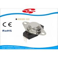 Wholesale UL VED approval 3/4' Bimetal Snap Disc Thermostat KSD302-122 for home Appliances from china suppliers