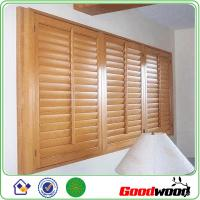 Wholesale Plantation PVC  Exterior Decorative Adjustable Louver Shutter Window from china suppliers