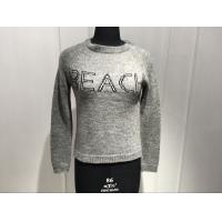Wholesale Embroidered Custom Crew Neck Sweaters , Oversized Pullover Sweaters Women'S from china suppliers