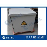 Wholesale Cooling Fans Pole Mount Enclosure Telecom Outdoor Cabinet Assembled / Welded Stucture from china suppliers