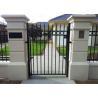 Australia SYDNEY welded garrison steel fencing panels for sale
