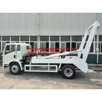 Wholesale 6 Tires Swing Arm Garbage Collection Truck SINOTRUK HOWO 6-10CBM 4X2 ZZ1127G4215C1 from china suppliers